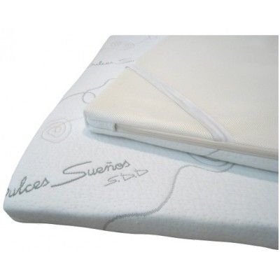CUBRECOLCHON TOPPER VISCO LATEX 6CM